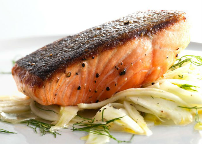 Spiced Roasted Salmon